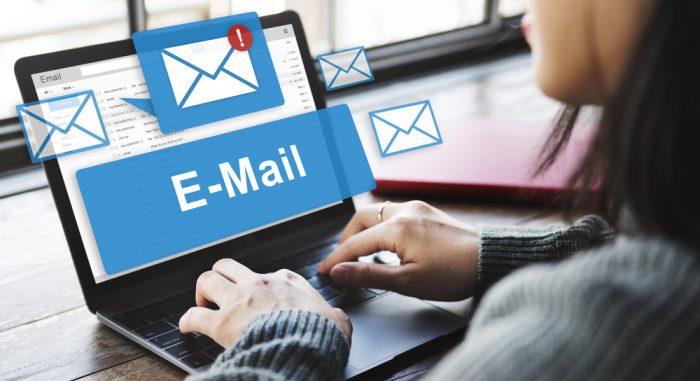 Cadastro de e-mails
